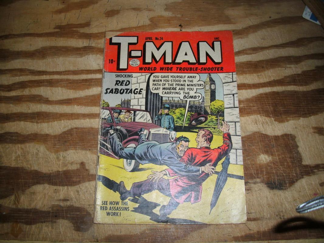T-Man #24 very good 4.0