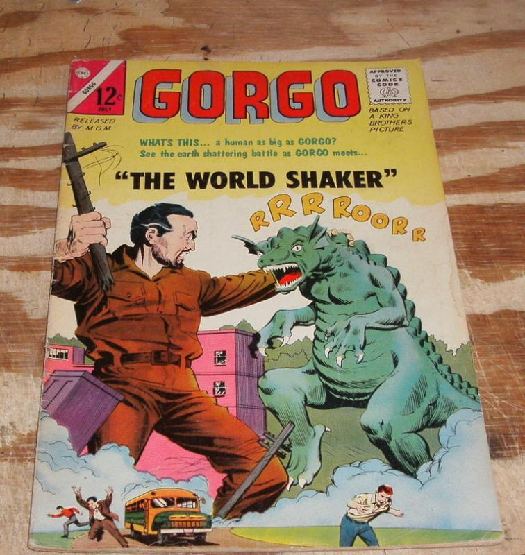 Gorgo #19 comic book very fine 8.0