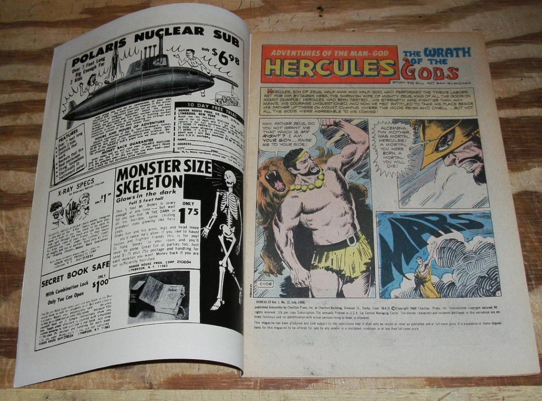Hercules #12  comic book very fine/near mint 9.0