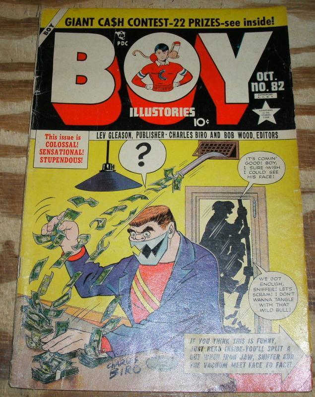 Boy Comics #82  very good/fine 5.0
