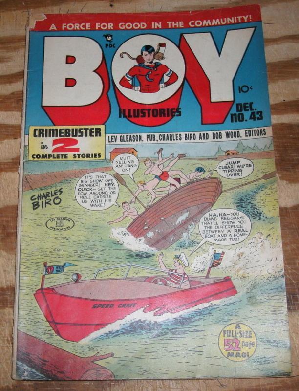 Boy Comics Illustories #43 fine 6.0