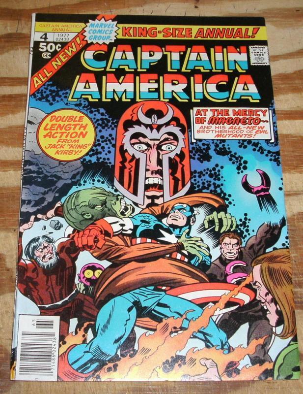 Captain America Annual #4 very fine 8.0
