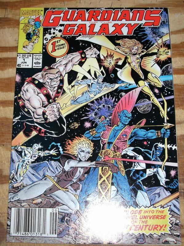 Guardians of the Galaxy #1 near mint 9.4
