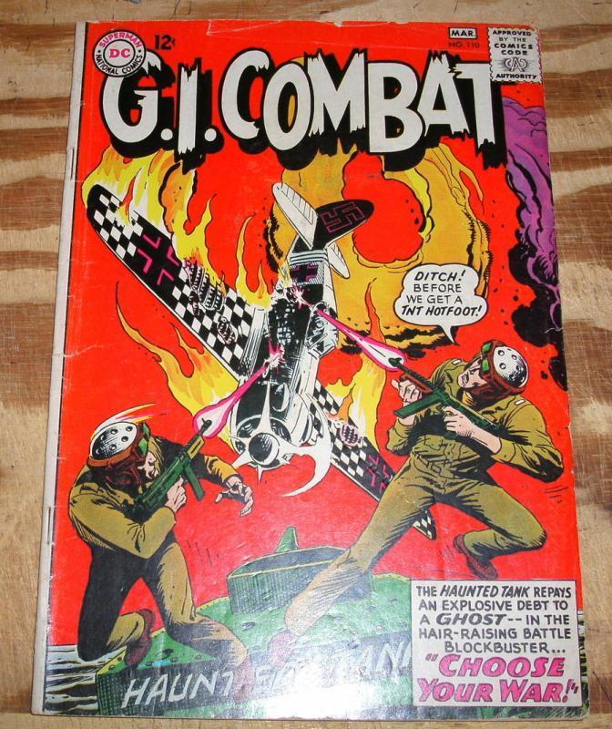 G.I. Combat #110  vg/fn 5.0