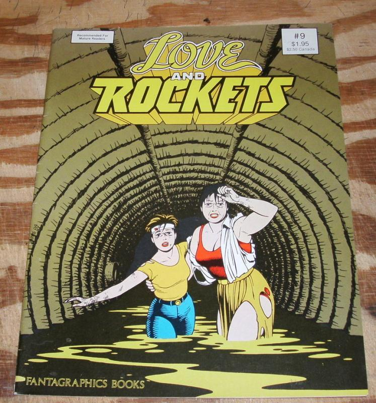 Love and Rockets #9 near mint 9.4