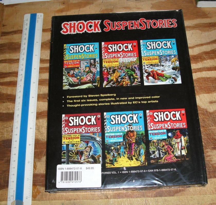 Hardback EC Archives Shock Suspenstories mint 9.9