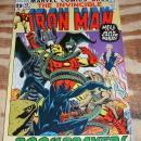 Iron Man #43 fine/very fine 7.0