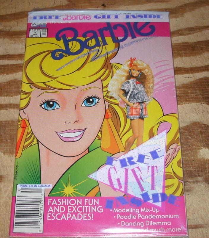 Barbie #1 comic book mint 9.8