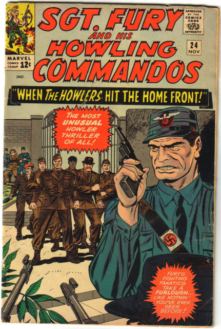 Sgt. Fury and his Howling Commandos #24 comic book very good/fine 5.0