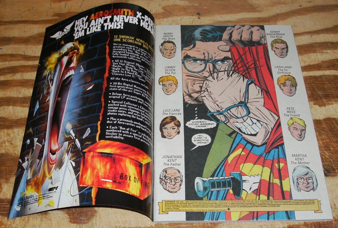 Superman #100 Death of Clark Kent nm/m 9.8