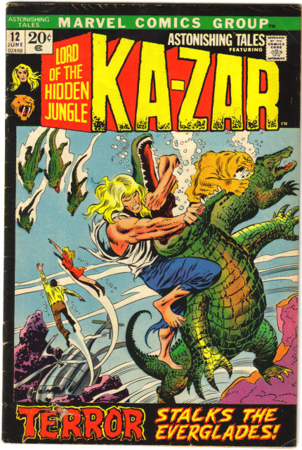 Astonishing Tales #12 featuring Ka-zar  comic book very good/fine 5.0