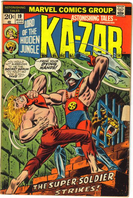Astonishing Tales #19 featuring Ka-zar  comic book very good/fine 5.0
