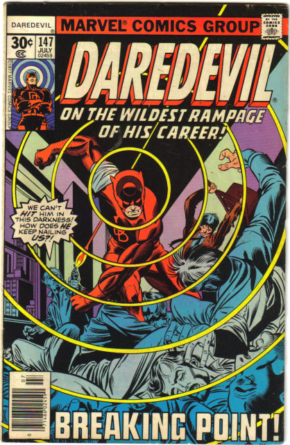 Daredevil the Man Without Fear #147 comic book fine 6.0