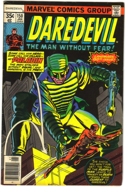 Daredevil the Man Without Fear #150 comic book fine 6.0