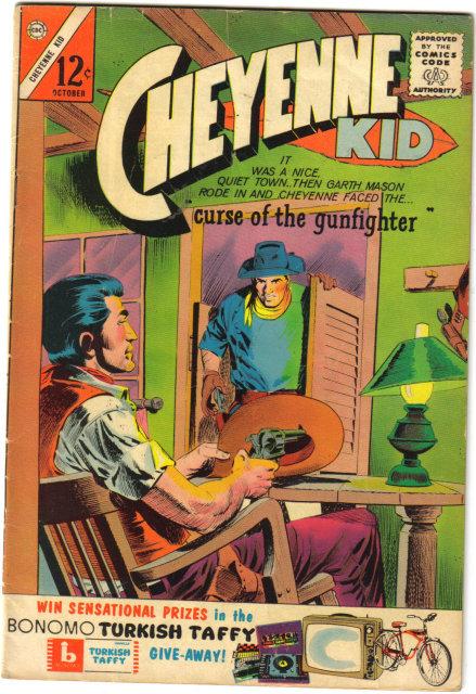 Cheyenne Kid #42 comic book very good/fine 5.0