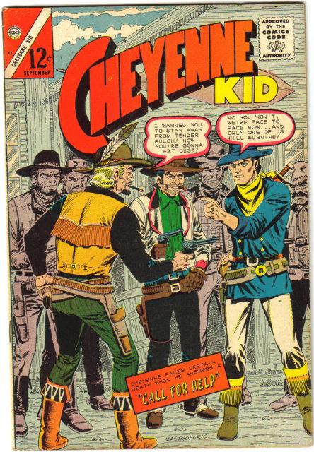 Cheyenne Kid #52 comic book very fine/very fine 7.0