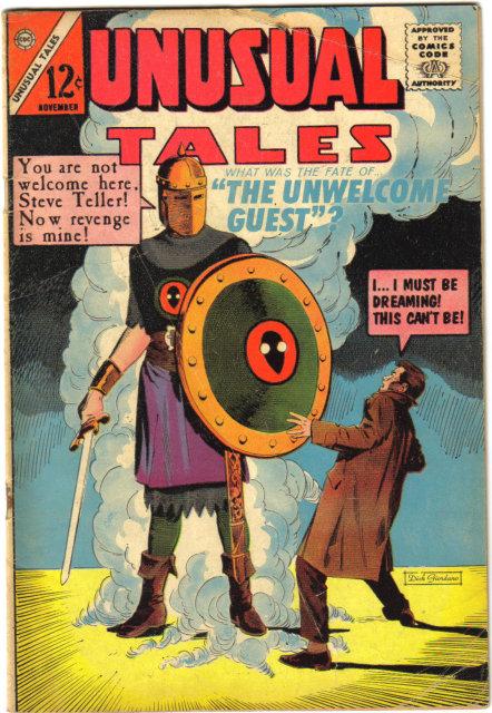 Unusual Tales #47 comic book very good 4.0