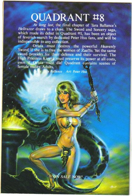 Elf Warrior #4 comic book