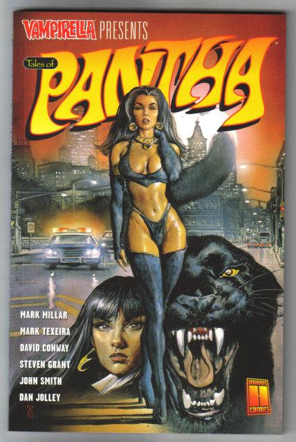 Vampirella Presents Tales of Pantha graphic novel