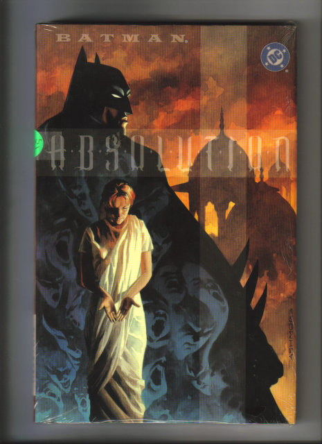 Batman Absolution harcback graphic novel never opened