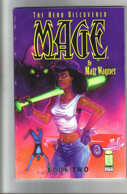 The Hero Discovered Mage by Matt Wagner Book 2