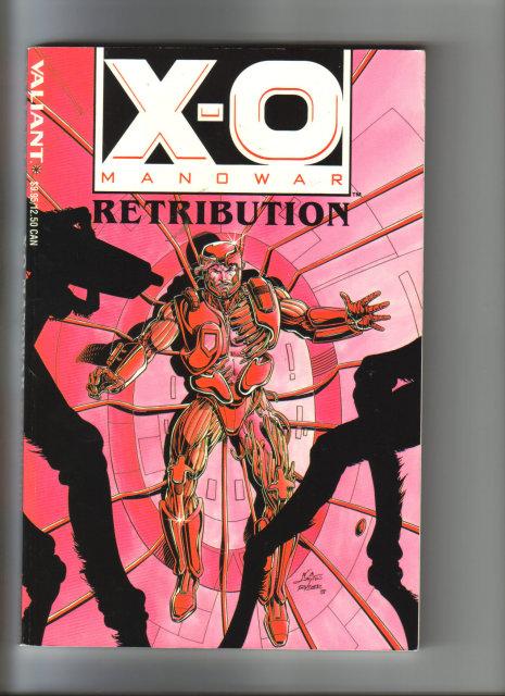 X-O Manowar Retribution graphic novel mintge by Matt Wagner Book 8