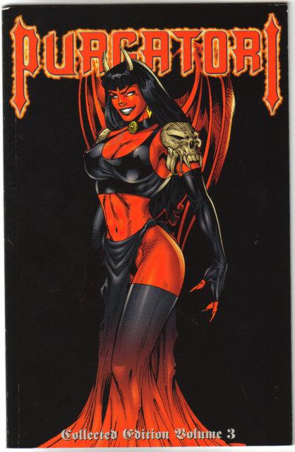 Purgatori volume 3 graphic novel