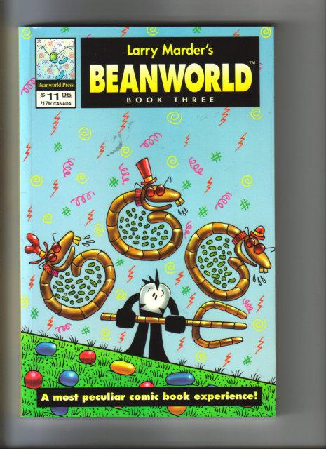 Larry Marder's Beanworld graphic novel mint book 3
