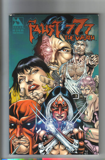Faust 777 the Wrath graphic novel