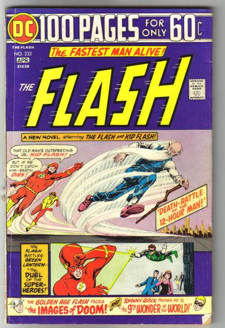 The Flash #232 comic book very good/fine 5.0