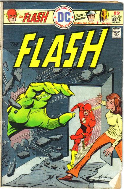 The Flash #236 comic book very good 4.0