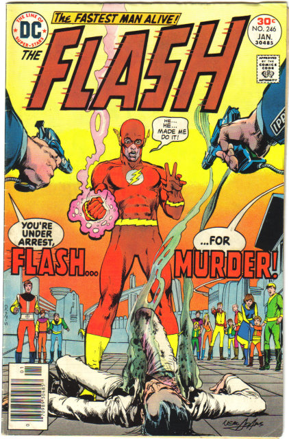 The Flash #246 comic book very good 4.0