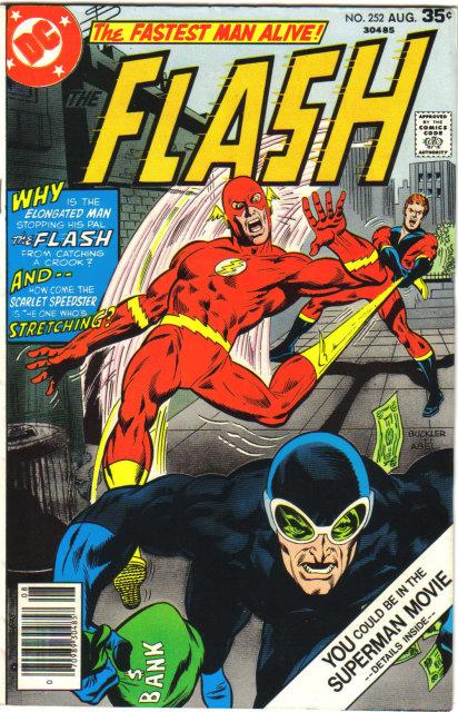 The Flash #252 comic book very fine 8.0