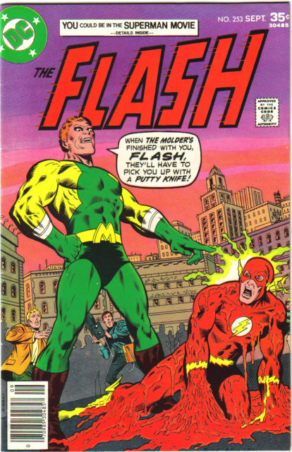 The Flash #253 comic book  fine 6.0