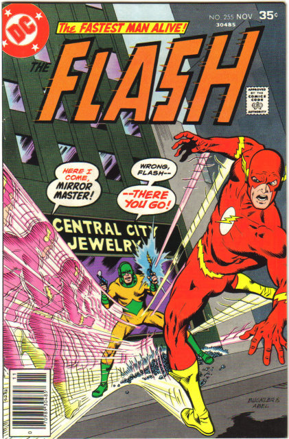 The Flash #255 comic book very fine 8.0