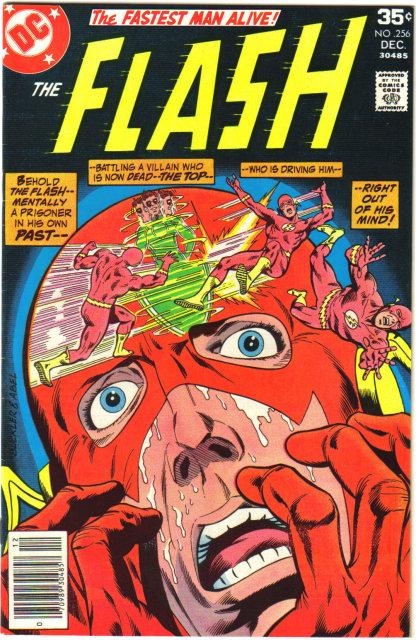 The Flash #256 comic book very fine/near mint 9.0