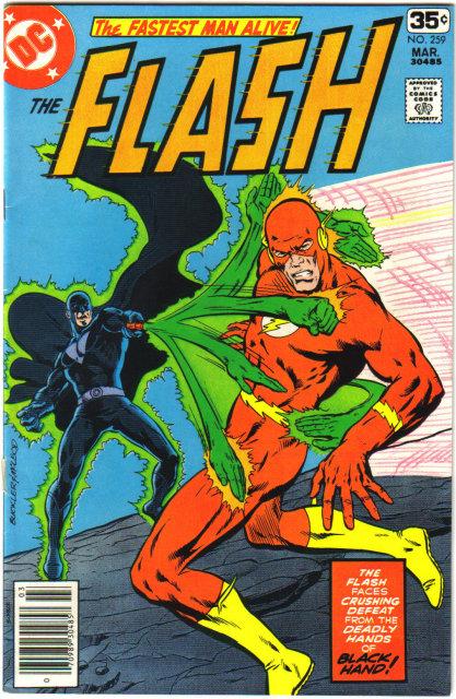 The Flash #259 comic book very fine 8.0