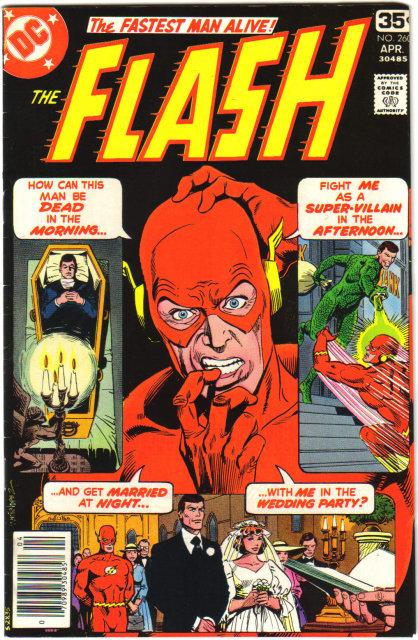 The Flash #260 comic book very fine 8.0