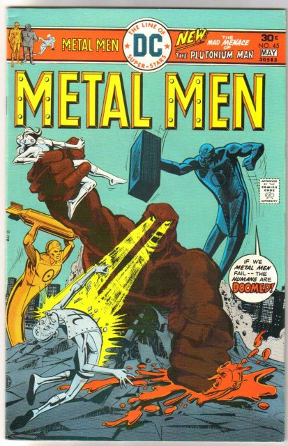 Metal Men #45 comic book very fine 8.0