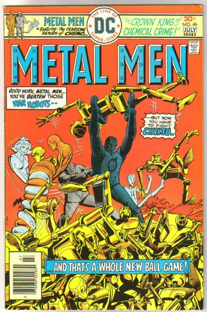 Metal Men #46 comic book very fine 8.0