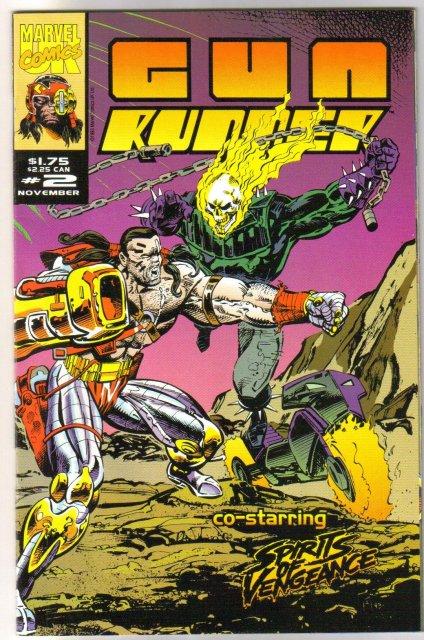Gun Runner #2 comic book mint 9.8