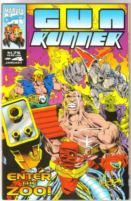 Gun Runner #4 comic book near mint 9.4
