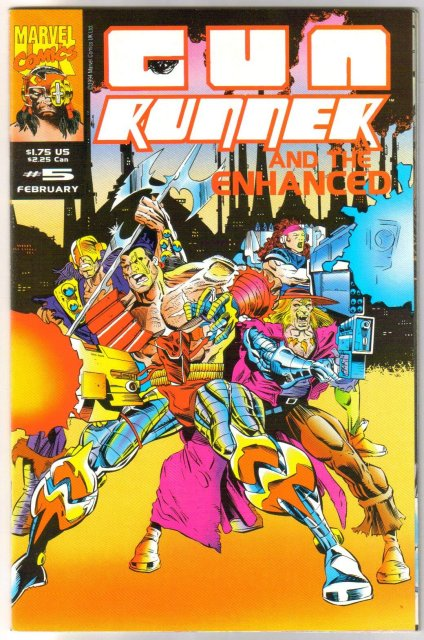 Gun Runner #5 comic book near mint 9.4