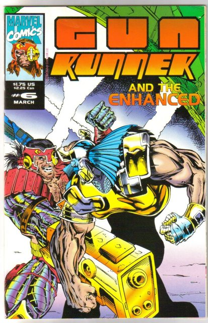 Gun Runner #6 comic book mint 9.8