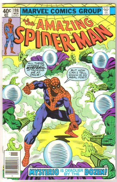 Amazing Spider-man #198 comic book very fine 8.0
