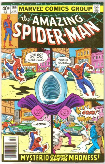 Amazing Spider-man #199 comic book very fine 8.0