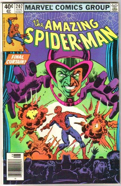 Amazing Spider-man #207 comic book very fine 8.0