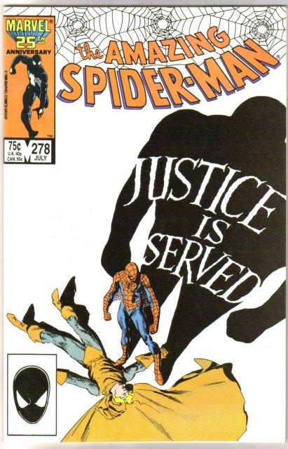 Amazing Spider-man #278 comic book mint 9.8