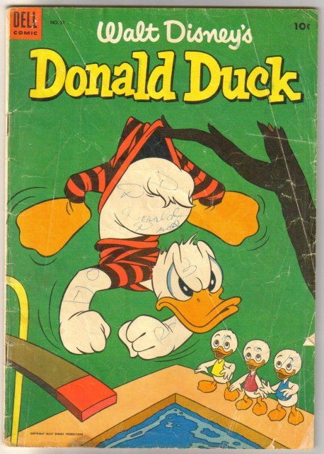 Donald Duck #31  comic book good/very good 3.0