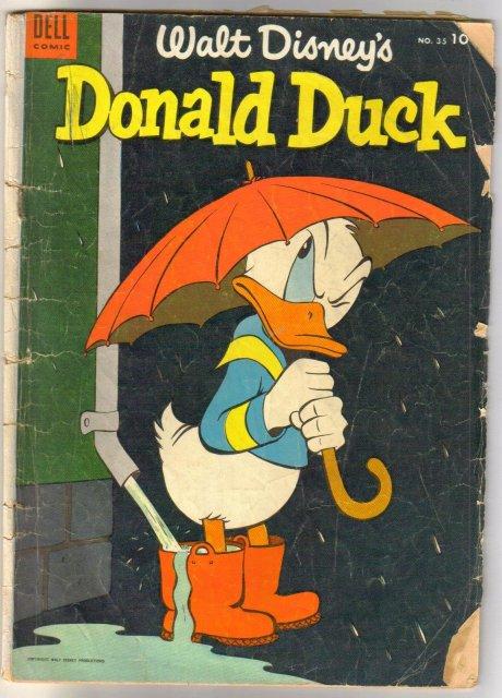 Donald Duck #35 comic book good 2.0